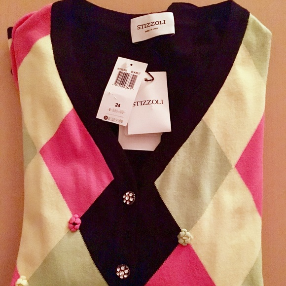 Stizzoli Sweaters - Made in Italy gorgeous knit sweater by Stizzoli